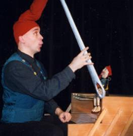 Schneiderlein mit Nadel